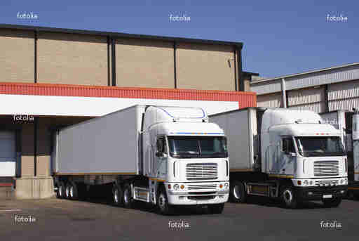 freight shipping services - fleet of trucks